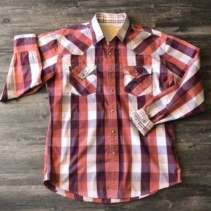 Wrangler 20X Plaid Shirt